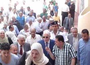 بالصور| استقبال حافل للواء خالد فودة عقب تجديد الثقة له بمدينة الطور