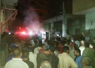 السيطرة على حريقين في محطة ومولد كهرباء بالشرقية