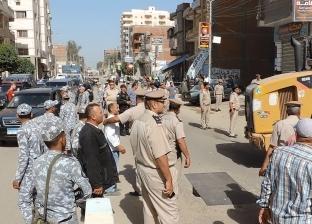 إزالة 1679 حالة إشغال و180 مخالفة مرورية متنوعة في حملة بوادي النطرون