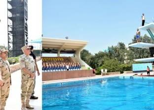 وزير الدفاع يتفقد اختبارات القبول للكليات العسكرية والمعهد الفني