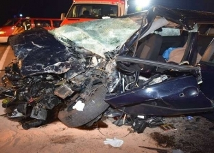 """مصرع 6 أشخاص بينهم طفلين في حادث مروري بطريق """"بورسعيد – الإسماعيلية"""""""