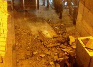بالصور  مصرع عامل أثناء ترميم شرفة منزل بالطابق الخامس وسط الإسكندرية
