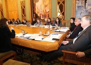 """""""مايا"""" تبحث مع ممثل """"الأمم المتحدة"""" مشروع مكافحة العنف ضد المرأة"""