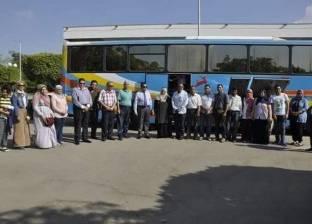 انطلاق قوافل جامعة قناة السويس إلى سانت كاترين بجنوب سيناء