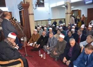 """""""أوقاف الغربية"""": نحتفل بالمولد """"مطمئنين"""".. ولدينا 22 مسجدا بها أضرحة"""