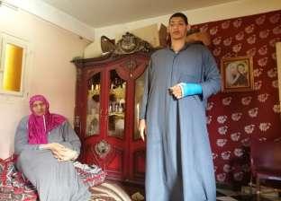 تضخم في الأطراف: معاناة أطول شقيقين في الحسينية