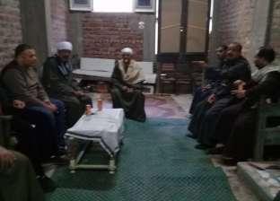 بالصور| رئيس مدينة فرشوط بقنا يلتقي مواطنين ويستمع لشكواهم