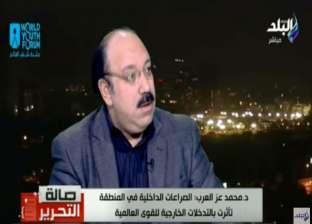 محمد عز العرب: مصر حريصة على بقاء الدولة السورية ولا تدعم بشار لذاته