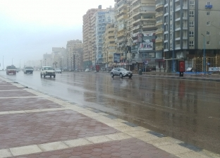 إغلاق أجنحة معرض إسكندرية للكتاب بسبب الطقس السيئ