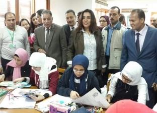 محافظ دمياط تفتتح المعرض الفيتنامي بمكتبة مصر العامة