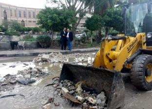 جولة تفقدية بـ3 أحياء لمتابعة أعمال كسح وشفط المياه في الإسكندرية