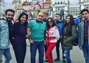 بالصور| رزان مغربي تصل إلى روسيا لتغطية مباريات كأس العالم
