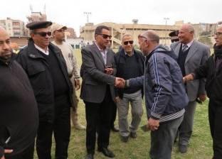مدير أمن الإسماعيلية يتفقد مراكز الشباب بنطاق المحافظة