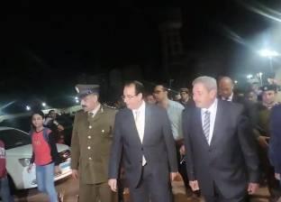 الشعراوي ومدير الأمن يشرفان على نقل سوق السيارات المستعملة في المنصورة