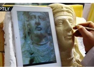 """""""روسيا اليوم"""" تعرض فيديو لترميم آثار المتحف الوطني بدمشق"""