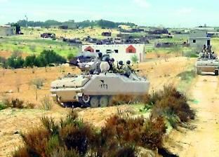 تمشيط منطقة الساحل برفح لملاحقة عناصر إرهابية