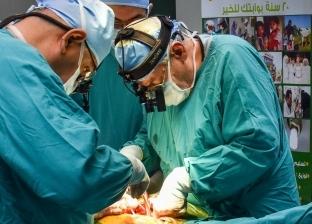 """""""الأورمان"""" تنظم قافلة طبية مجانية لأهالي قريتين في بني سويف"""