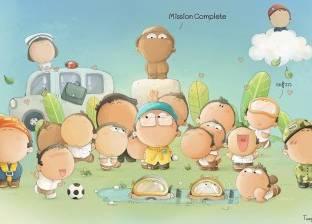 """بعد انبهار العالم بهم.. """"أطفال الكهف"""" كاريكاتير في تايلاند"""
