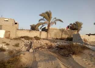 الرياح القوية والأتربة تحجم حركة خروج الناخبين بشمال سيناء