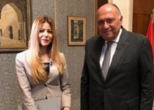 """وزير الخارجية يتحدث مع """"روسيا اليوم"""" عن العلاقات المصرية الروسية"""