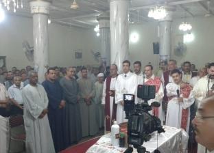مسلمون يشاركون أقباط الأقصر احتفالات مولد «الشهيدة رفقة وأولادها»