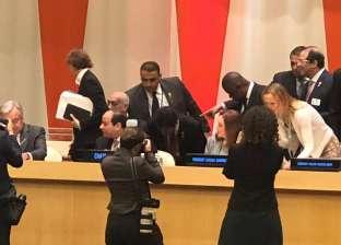 بث مباشر| السيسي يلقي كلمة أمام مجموعة الدول النامية الـ77 بنيويورك