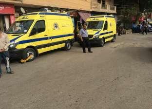 """حادث مروري في طريق """"أسوان – القاهرة"""" دون وجود إصابات"""