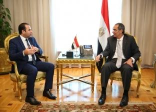 عمرو طلعت يلتقي رئيس لجنة الاتصالات بالنواب لمناقشة الأجندة التشريعية