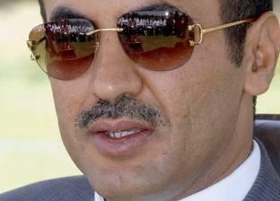 ولي عهد الإمارات يلتقي أحمد علي عبد الله صالح في أبو ظبي