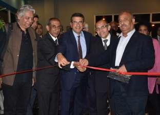 """سفير الهند يفتتح معرض """"كانو- غاندي"""" بمسرح الهناجر بالأوبرا"""