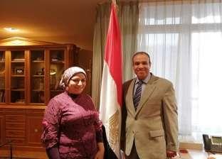 سفير مصر في برلين: العلاقة مع الألمان شهدت طفرة غير مسبوقة في عهد السيسي