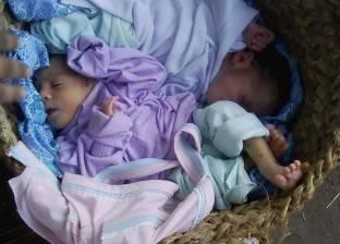 العثور على طفلين حديثي الولادة وسط زراعات أجهور الكبرى في طوخ