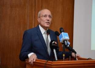 العصار ومميش يبحثان سبل التعاون المشترك لتنمية محور قناة السويس