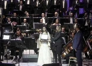 «ماجدة» فى ختام «الموسيقى العربية»: مصر خط الدفاع عن الكرامة العربية
