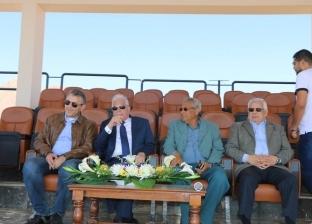 """محافظ جنوب سيناء يشهد مشروع """"صقر 45"""" لمجابهة الأزمات والكوارث"""