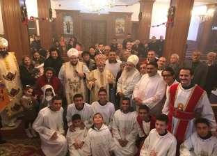 الكنيسة تقيم قداس عيد الميلاد بإيبارشية شمال سيناء