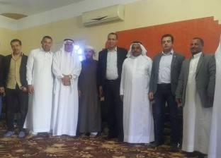 """أمين تنظيم """"مستقبل وطن"""" يلتقي قيادات الحزب بشمال سيناء"""