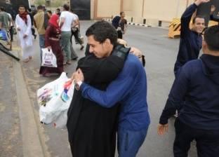 بالصور| الإفراج عن 4 آلاف سجين بمناسبة عيد تحرير سيناء