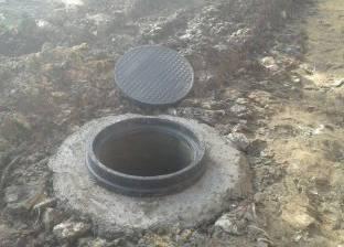 تركيب خطوط طرد جديدة بمحطات الصرف الصحي بالسويس