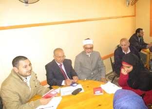 """رئيس """"البحيرة الأزهرية"""" يتفقد تصفيات تحدي القراءة العربي"""