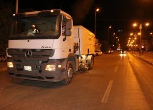 بالصور| حملات مكثفة لنظافة الشوارع الرئيسية والجانبية في الفيوم