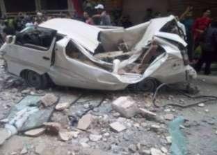 مصرع 2 بينهما طفلة وإصابة 4 إثر انهيار شرفة عقار في الإسكندرية