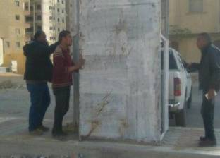 إزالة 700 كشك مخالف من أحياء القاهرة