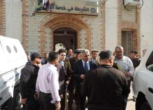 مدير أمن البحيرة يتفقد مركز شرطة أبو حمص