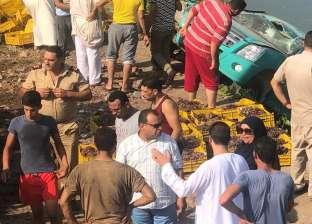 مصرع مواطن وإصابة 4 من أسرة واحدة إثر انقلاب سيارة بالساحل الشمالي