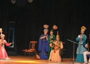 بالصور| كازاخستان تنظم مهرجان ثقافة وحفل فني بالغردقة