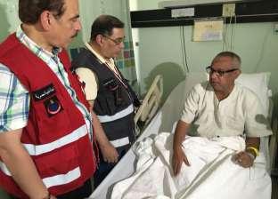 رئيس بعثة الحج الطبية والمستشار الطبي يتفقدان الحالة الصحية للحجاج