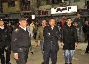 بالصور| مدير أمن الإسماعيلية: تنظيم حملات يوميا لمواجهة الإشغالات