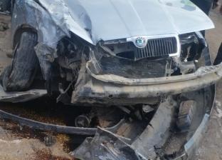 إصابة 15 شخصا في حادثي سير منفصلين على الطريق الزراعي بالبحيرة