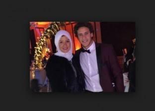 بالفيديو| عقد قران رمضان صبحي على حبيبة إكرامي
